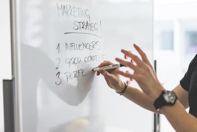 マーケティング戦略の画像