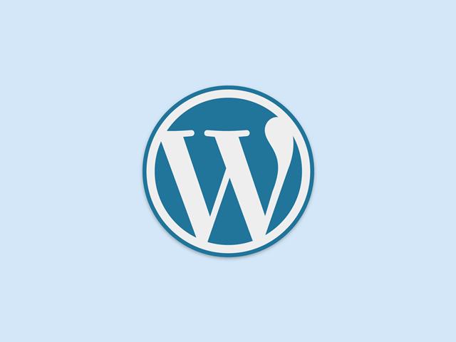 ワードプレスの公式ロゴ
