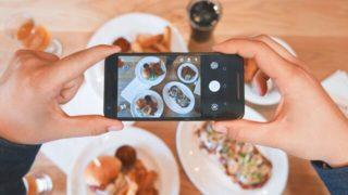 iphoneで撮影している画像