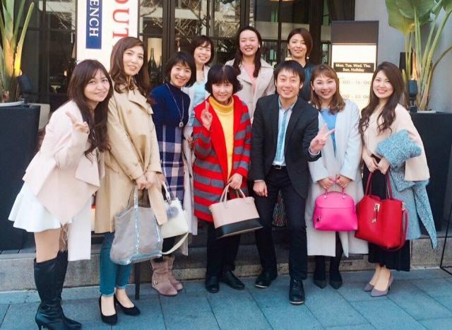 大阪ランチ会の集合写真